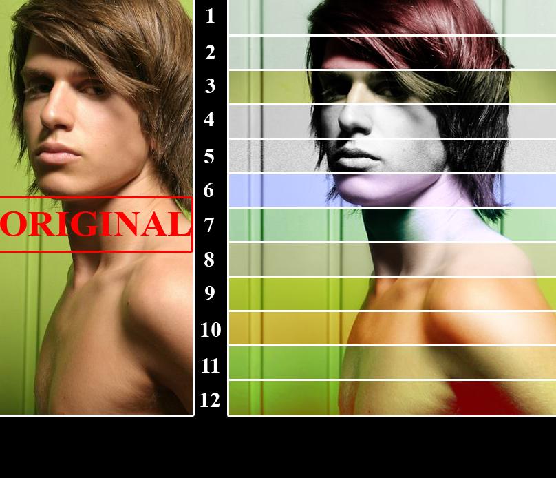 12 Color Scripts Traitement Photoshop par AliceInUnderland