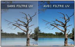 filtre photo UV