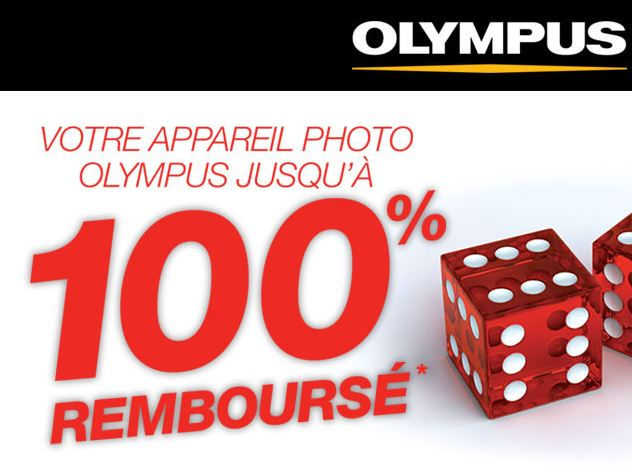 Remboursement photo Olympus