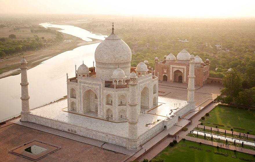 Le Taj Mahal (Inde) Photo : Amos Chapple