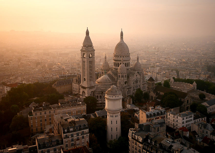 Le Sacré-Cœur (Paris) Photo : Amos Chapple
