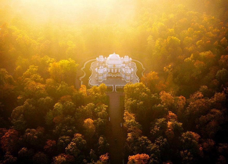 Le Pavillon de l'Ermitage (Saint-Pétersbourg) Photo : Amos Chapple